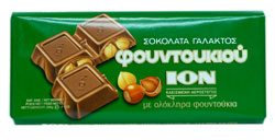 ION HAZELNUT MILK CHOCOLATE