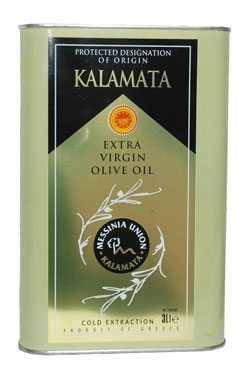 KALAMATA EXTRA VIRGIN OLIVE OIL (3LITERS)
