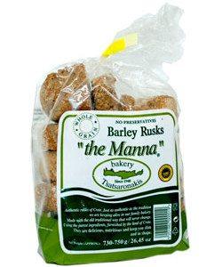 MANNA BARLEY RUSKS