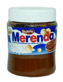 MERENDA HAZELNUT CHOCOLATE SPREAD