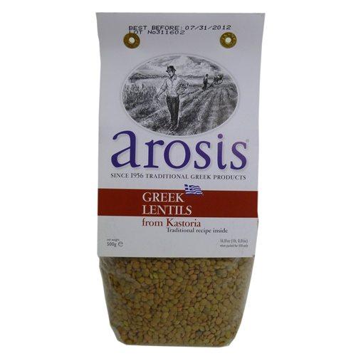AROSIS GREEK LENTILS 500G