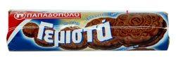 CHOCOLATE CREAM FILLED SANDWICH COOKIES