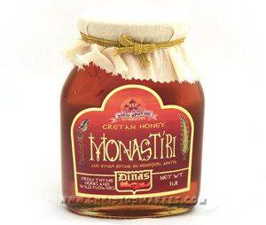 MONASTIRI HONEY (2.2LB JAR)