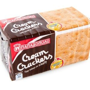 PAPADOPOULOS CREAM CRACKERS (RYE)