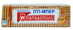 PAPADOPOULOS PETITE- BEURRE BISCUITS