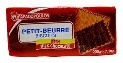 PAPADOPOULOS PETITE -BEURRE W/ CHOCOLATE