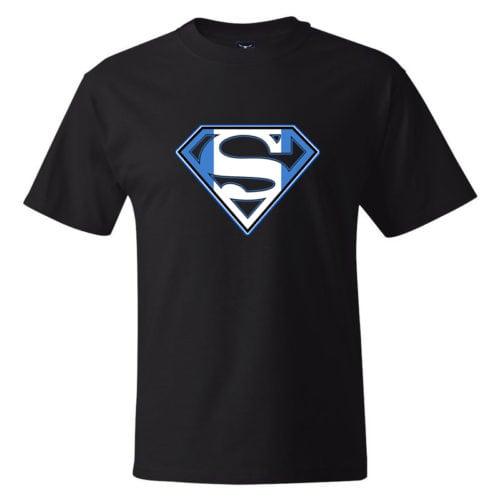 super greek black tshirt