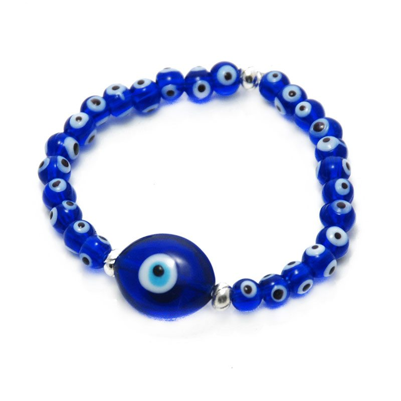 Evil Eye Pendant Bracelet Greek Gift