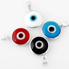 925 Silver Classic Evil Eye Pendant