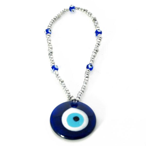 Seed Bead Evil Eye Gouri Amulet