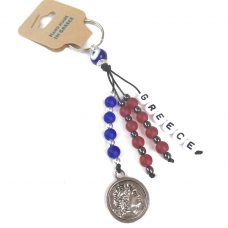 Hand Made Key chain with Mati & Alexander the Great