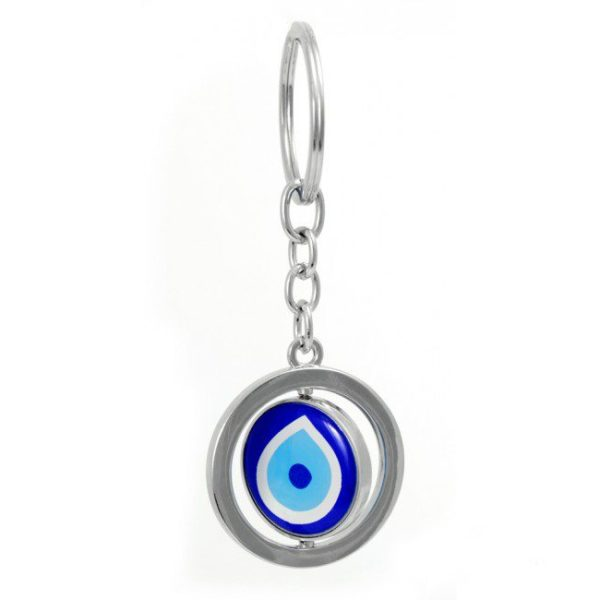 Revolving Evil Eye Key ring