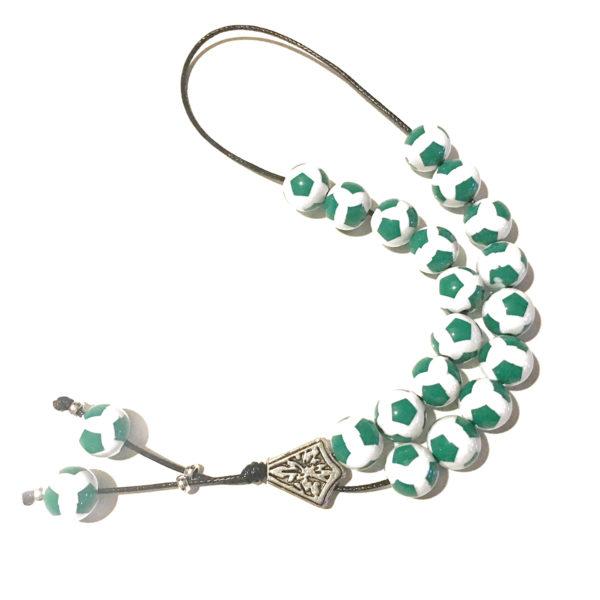 Panathinaikos Soccer Worry Beads / Komboloi