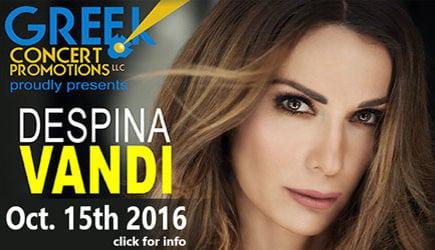 Despina Vandi in Concert