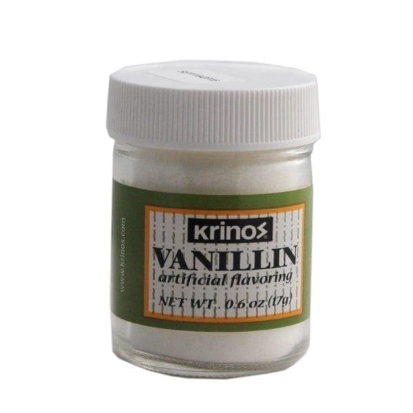 Krinos Vanillin 0.6oz Jar