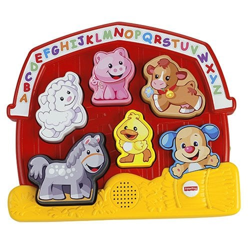 Greek FIsher Price Educational Animal Puzzle