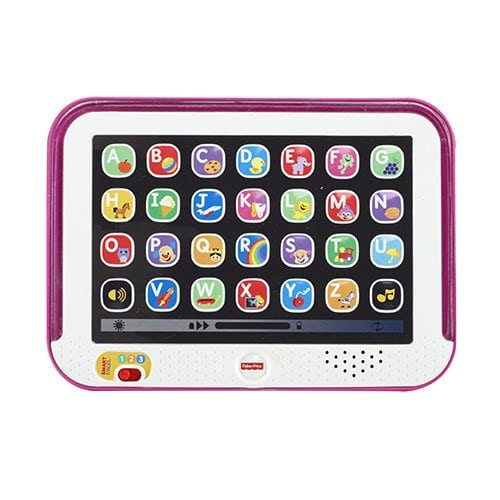 Greek Fisher Price Smart Stages Tablet – Pink