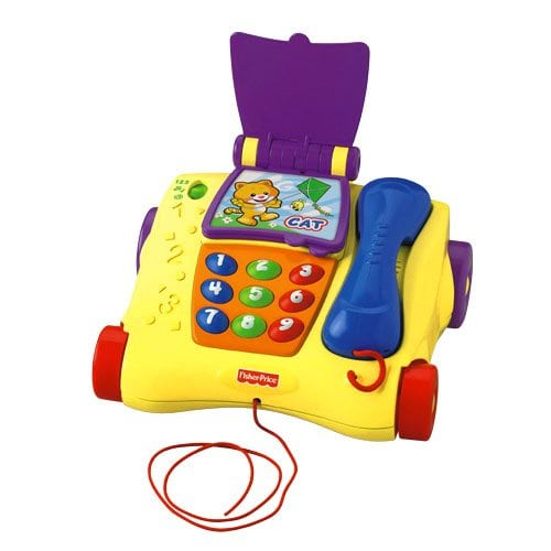 Greek Fisher Price Pull Along Phone