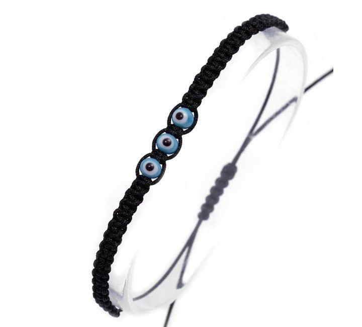 Braided Cord Lucky Mati Bracelet Greek Gift Shop