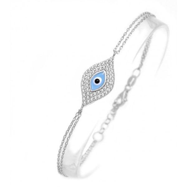 Designer Evil Eye Mati Bracelet