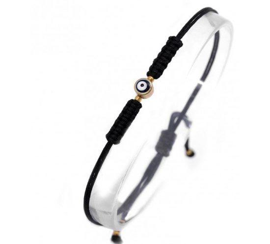Evil Eye Friendship Bracelet - Black