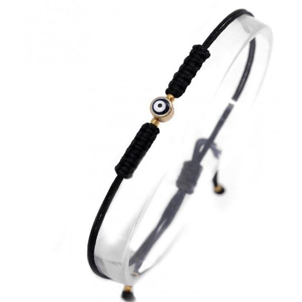 Evil Eye Friendship Bracelet - Black