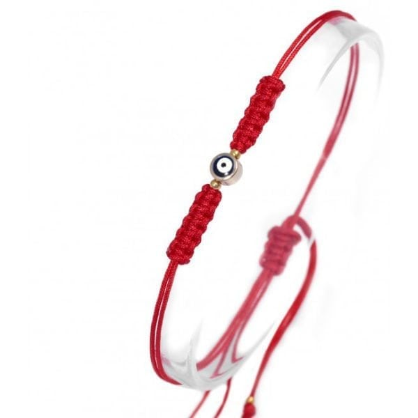 Evil Eye Friendship Bracelet - Red