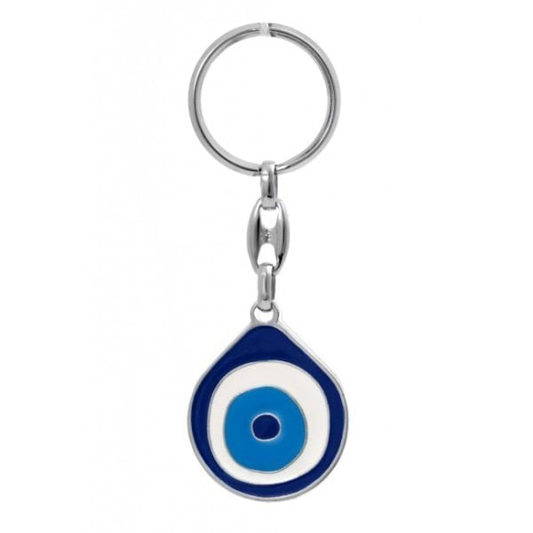Good Luck Enamel Mati Keychain