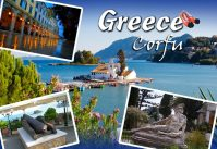 Magnet - Greece Corfu