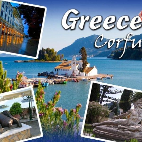 Magnet - Greece Corfu
