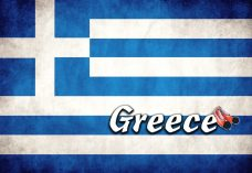 Magnet - Greece Flag