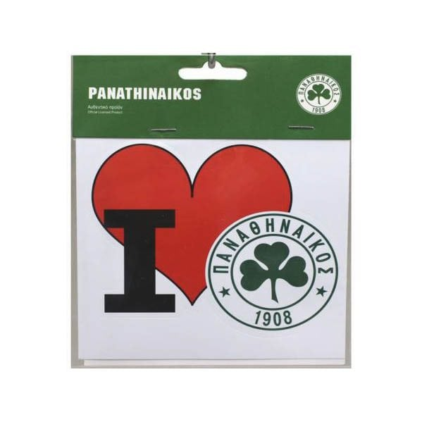 I Love Panathinaikos Sticker