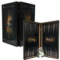 Leonidas Tavli Board Set (Greek Backgammon)