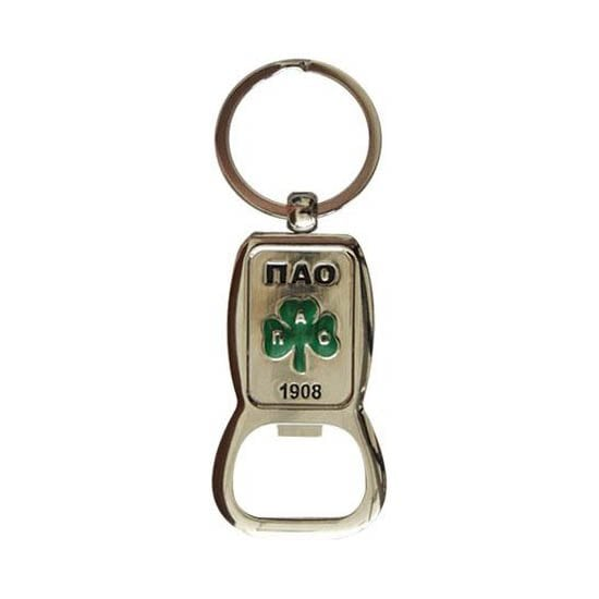 Panathinaikos Metal Key Chain with Bottle Opener
