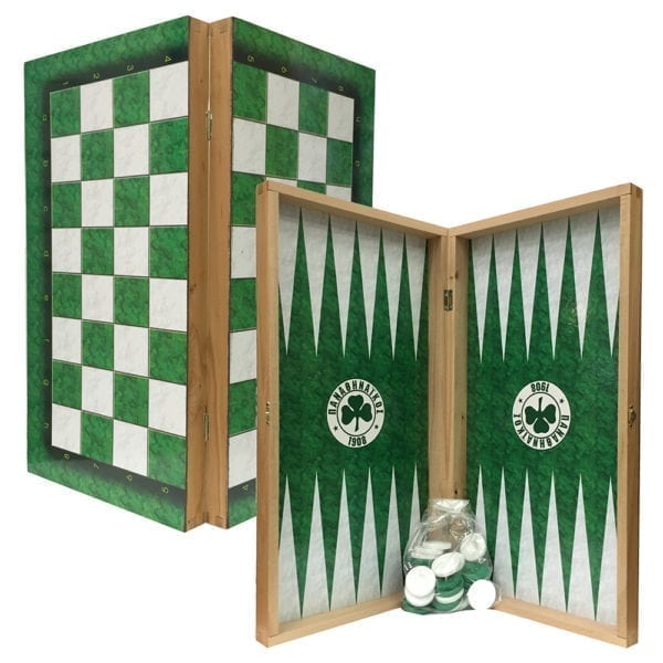 Panathinaikos Tavli Board Set