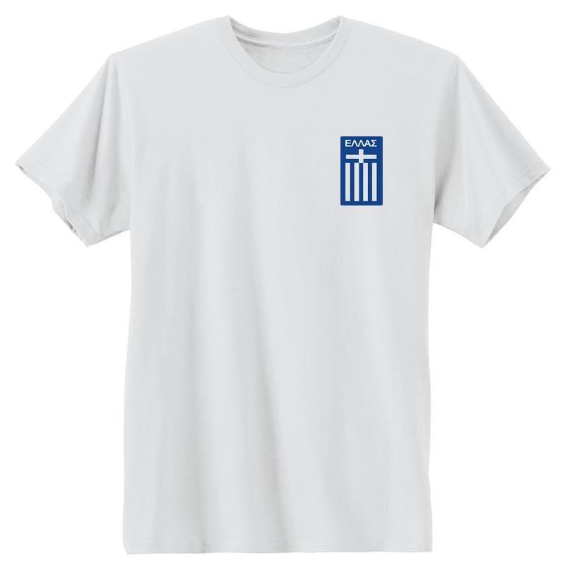 Ethniki Ellas White T-Shirt