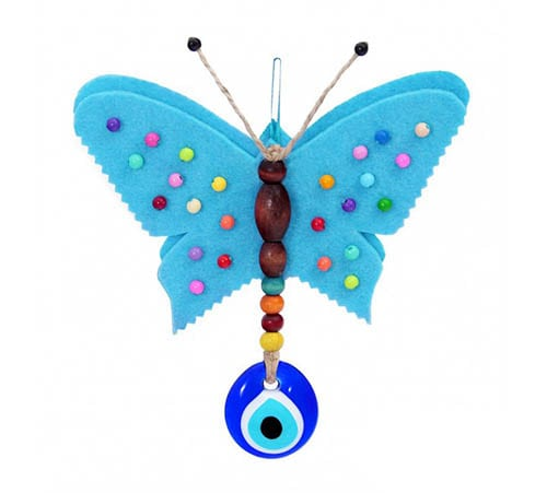 Butterfly Evil Eye Wall Decoration