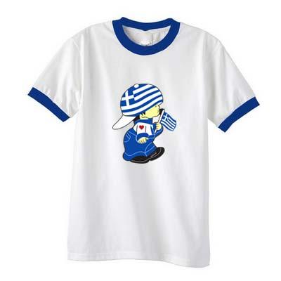 Greek-Boy-Flag Tshirt