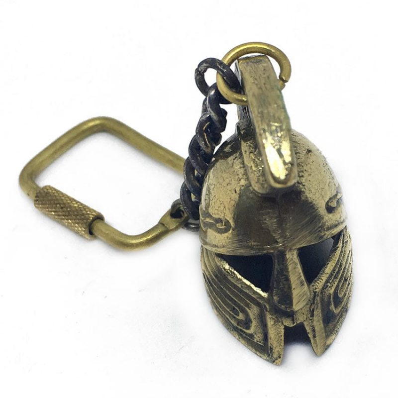 Brass-Spartan-Helmet