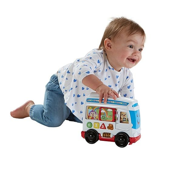 Greek Fisher Price Laugh & Learn Bus-2