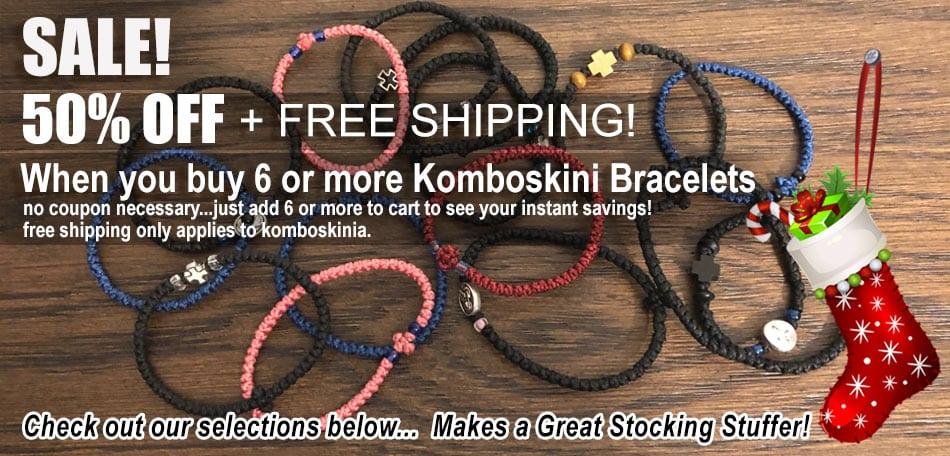 Komboskini / Prayer Rope Bracelets