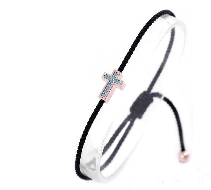 Nano-Turquoise-Stone-Cross-Pull-String-Bracelet