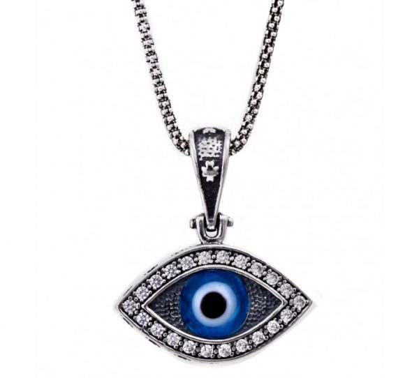 Greek Mati Evil Eye Necklace