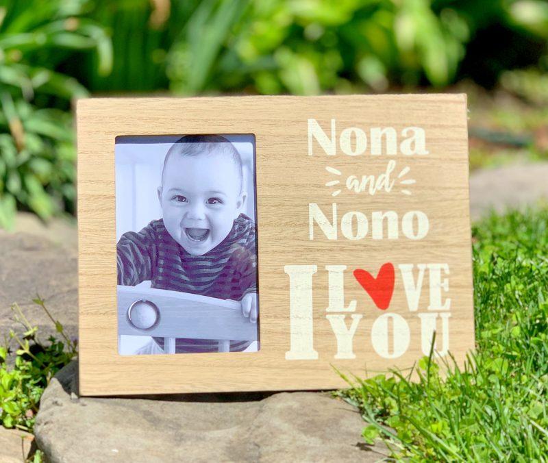 Nona and Nono I Love you Frame
